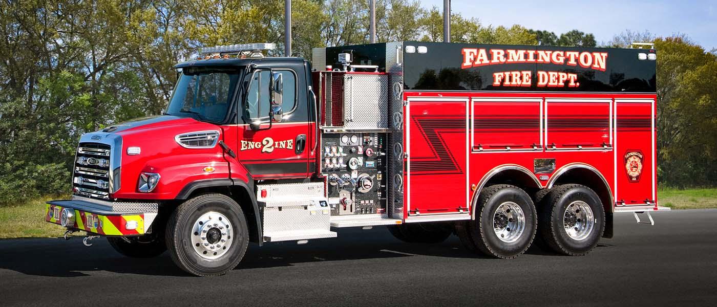 Farmington, AR Freightliner Tanker