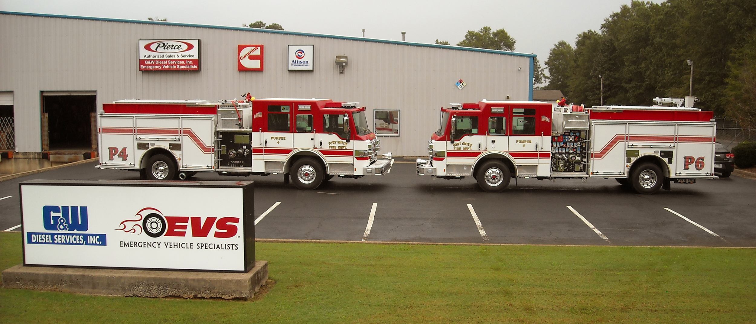 Fort Smith, AR Velocity FR Pumpers