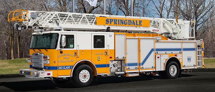 Springdale, AR Enforcer Aerial